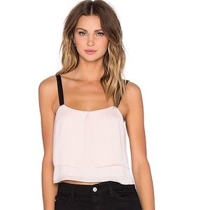 Lovers + Friends X REVOLVE NWT Delphine Top Nude